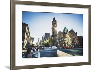 Old South Church, Boston, Massachusetts-Louis Arevalo-Framed Photographic Print