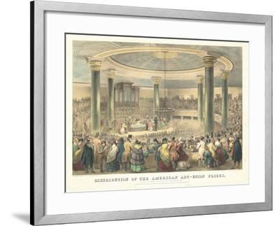 Distribution of the American Art-Union Prices-Francis D'Avignon-Framed Giclee Print
