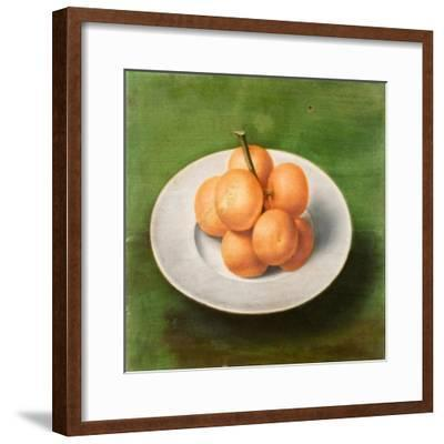 Still Life with Oranges, 1640-Unknown Artist-Framed Giclee Print