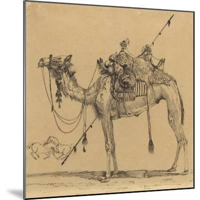 The Camel-Rodolphe Bresdin-Mounted Giclee Print