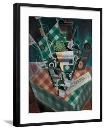 Still Life with Checked Tablecloth, 1915-Juan Gris-Framed Giclee Print