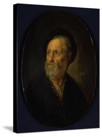 Bust of a Man, c.1635-40-Gerrit or Gerard Dou-Stretched Canvas Print