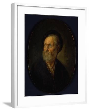 Bust of a Man, c.1635-40-Gerrit or Gerard Dou-Framed Giclee Print