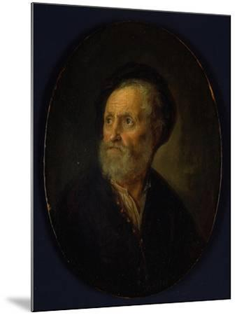 Bust of a Man, c.1635-40-Gerrit or Gerard Dou-Mounted Giclee Print