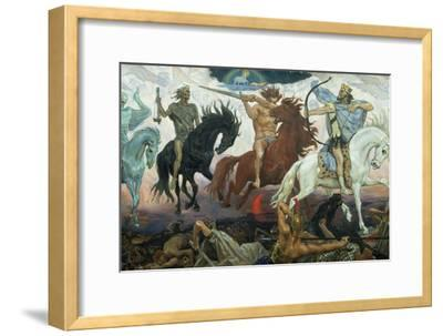 The Four Horsemen of the Apocalypse, 1887-Victor Mikhailovich Vasnetsov-Framed Giclee Print