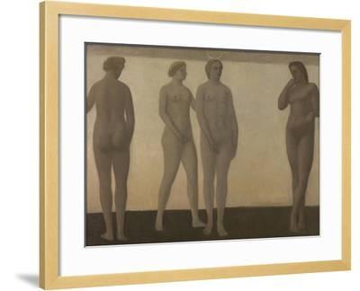 Artemis, 1893-94-Vilhelm Hammershoi-Framed Giclee Print