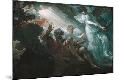 Moses Shown the Promised Land, 1801-Benjamin West-Mounted Giclee Print