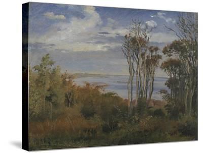 Kolås Wood. Vejrhøj, 1846-Johan Thomas Lundbye-Stretched Canvas Print