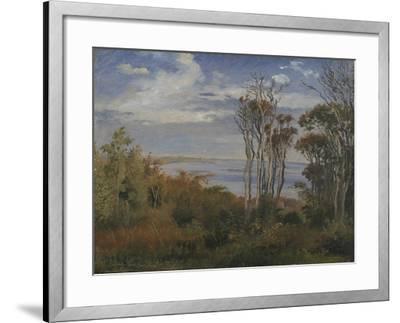 Kolås Wood. Vejrhøj, 1846-Johan Thomas Lundbye-Framed Giclee Print