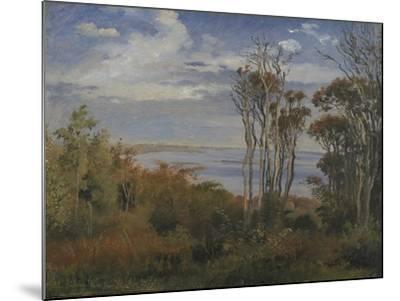 Kolås Wood. Vejrhøj, 1846-Johan Thomas Lundbye-Mounted Giclee Print