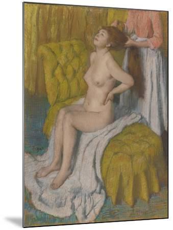 Woman Having Hair Combed, c.1886-88-Edgar Degas-Mounted Giclee Print