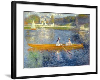 The Skiff (La Yole), 1875-Pierre-Auguste Renoir-Framed Giclee Print