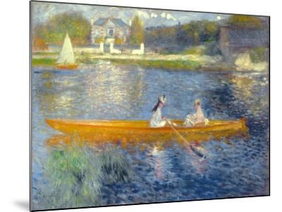 The Skiff (La Yole), 1875-Pierre-Auguste Renoir-Mounted Giclee Print