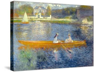 The Skiff (La Yole), 1875-Pierre-Auguste Renoir-Stretched Canvas Print