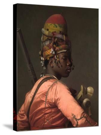 Bashi-Bazouk, 1868-69-Jean Leon Gerome-Stretched Canvas Print