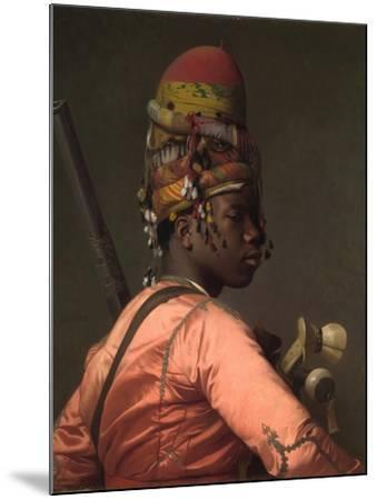 Bashi-Bazouk, 1868-69-Jean Leon Gerome-Mounted Giclee Print