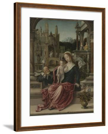 The Holy Family, c.1507-8-Jan Gossaert-Framed Giclee Print
