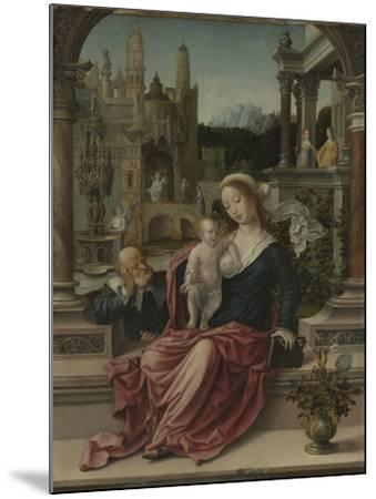 The Holy Family, c.1507-8-Jan Gossaert-Mounted Giclee Print