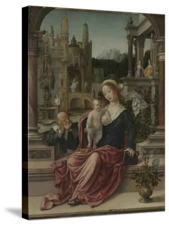 The Holy Family, c.1507-8-Jan Gossaert-Stretched Canvas Print