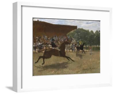 The False Start, c.1869-72-Edgar Degas-Framed Giclee Print