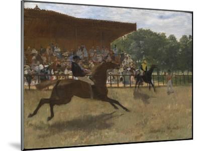 The False Start, c.1869-72-Edgar Degas-Mounted Giclee Print
