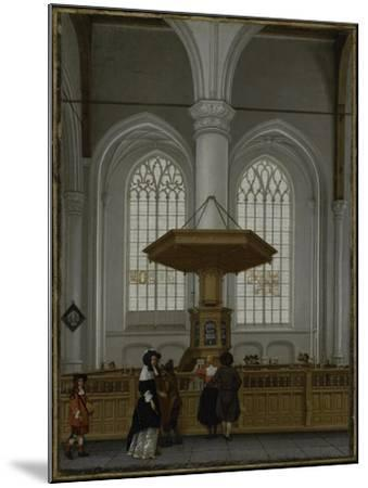 Interior of the Laurenskerk at Rotterdam, 1662-Anthonie de Lorme-Mounted Giclee Print