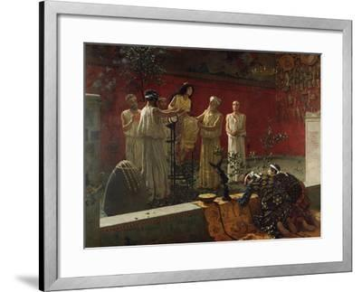 The Oracle, 1880-Camillo Miola-Framed Giclee Print
