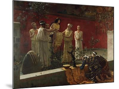 The Oracle, 1880-Camillo Miola-Mounted Giclee Print