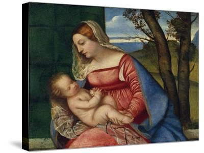Madonna and Child, c.1508-Titian-Stretched Canvas Print