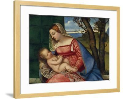 Madonna and Child, c.1508-Titian-Framed Giclee Print