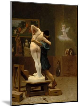 Pygmalion and Galatea, c.1890-Jean Leon Gerome-Mounted Giclee Print