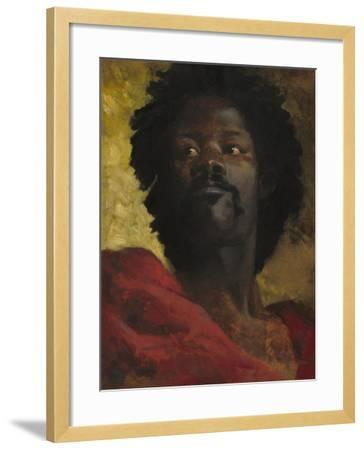 Head of a Moor, c.1870-Henri-Victor Regnault-Framed Giclee Print