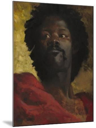 Head of a Moor, c.1870-Henri-Victor Regnault-Mounted Giclee Print