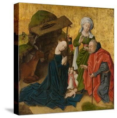 The Nativity, c.1460-Netherlandish School-Stretched Canvas Print