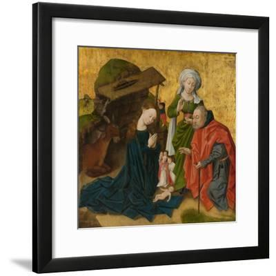 The Nativity, c.1460-Netherlandish School-Framed Giclee Print