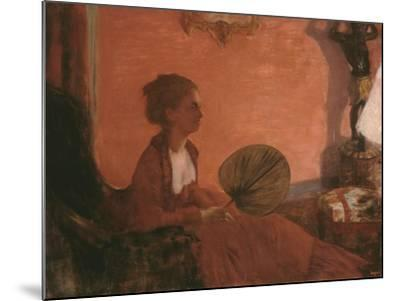 Madame Camus, 1869-70-Edgar Degas-Mounted Giclee Print