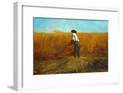 The Veteran in a New Field, 1865-Winslow Homer-Framed Giclee Print