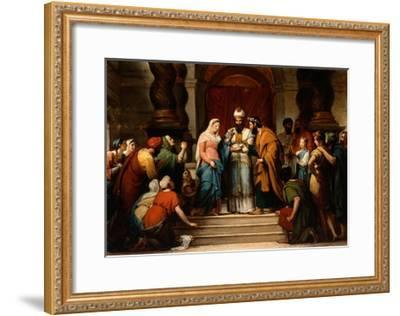 The Marriage of the Virgin, 1833-Jerome Martin Langlois-Framed Giclee Print