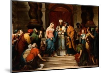The Marriage of the Virgin, 1833-Jerome Martin Langlois-Mounted Giclee Print