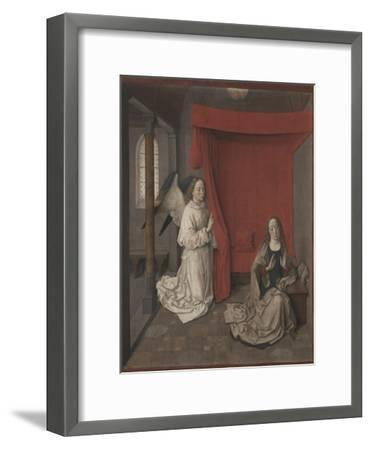 The Annunciation, c.1450-55-Dirck Bouts-Framed Giclee Print