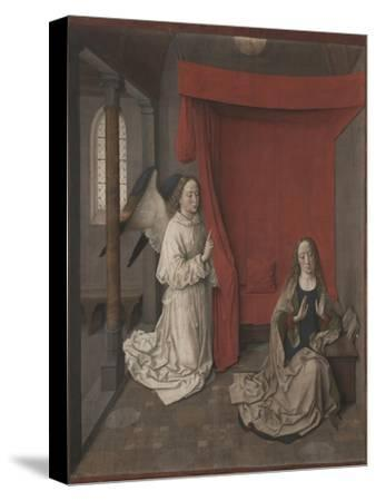 The Annunciation, c.1450-55-Dirck Bouts-Stretched Canvas Print