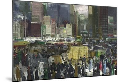 New York, 1911-George Wesley Bellows-Mounted Giclee Print
