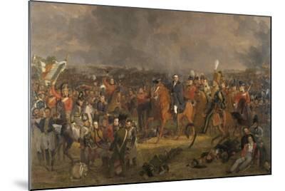 The Battle of Waterloo, 1824-Jan Willem Pieneman-Mounted Giclee Print