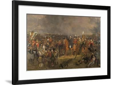 The Battle of Waterloo, 1824-Jan Willem Pieneman-Framed Giclee Print
