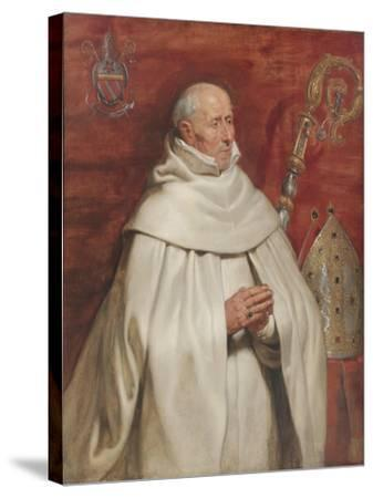 Matthaeus Yrsselius (1541-1629), Abbot of Sint-Michiel's Abbey in Antwerp, c. 1624-Peter Paul Rubens-Stretched Canvas Print
