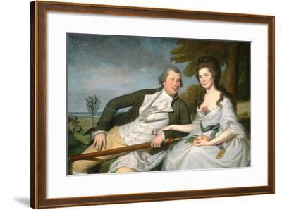 Benjamin and Eleanor Ridgely Laming, 1788-Charles Willson Peale-Framed Giclee Print