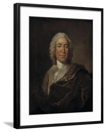 Gerhard Morell, Curator of the Royal Danish Kunstkammer-Johann Salomon Wahl-Framed Giclee Print