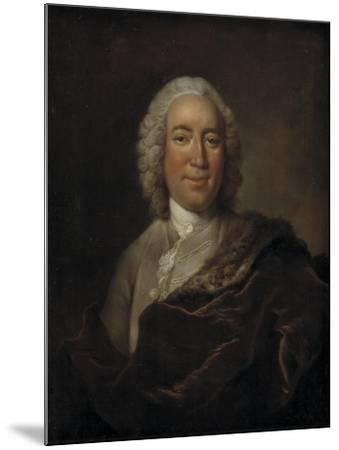 Gerhard Morell, Curator of the Royal Danish Kunstkammer-Johann Salomon Wahl-Mounted Giclee Print
