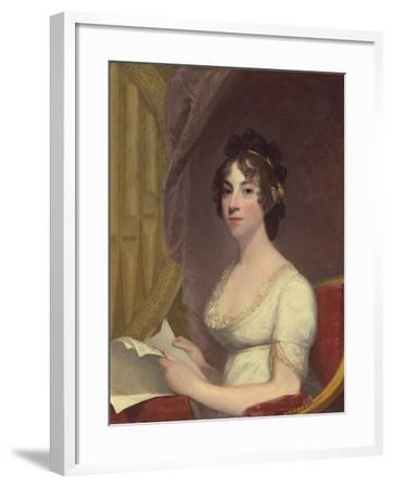Anna Maria Brodeau Thornton (Mrs. William Thornton), 1804-Gilbert Stuart-Framed Giclee Print