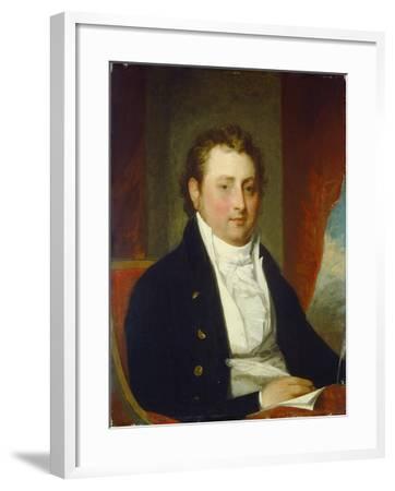 Edward Stow, c.1803-Gilbert Stuart-Framed Giclee Print